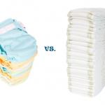 disposable diaper & cloth diaper