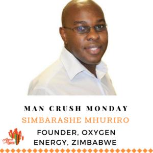 Man Crush Monday: Simbarashe Mhuriro