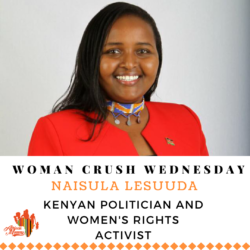 Woman Crush Wednesday: Naisula Lesuuda