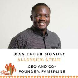 Man Crush Monday: Alloysius Attah