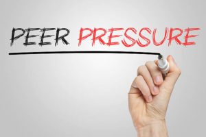 peer pressure and how to discourage it