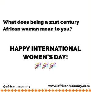 21st Century African woman